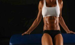 abdominales crunch oblicuo a la rodilla