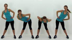 abdominales de pie efectivas