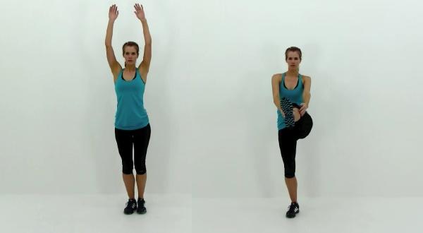 Ejercicios para abdomen y cintura de pie
